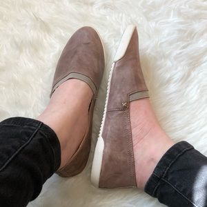 Frye Leather Slip On Flats